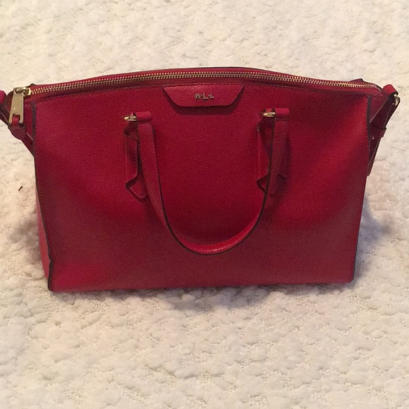 Lauren Ralph Lauren Bags   Lauren By Ralph Lauren Gorgeous Red Bag ... cbc413d282